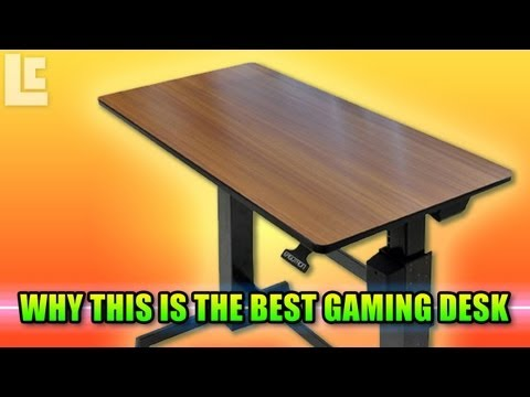 The Best Gaming Desk – Workfit-D Sit-Stand Desk Unboxing + Review