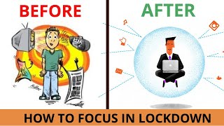 LEARN THE SKILL TO FOCUS  !! 5 SIMPLE TRICKS ध्यान देना सीखो in #CORONALOCKDOWN