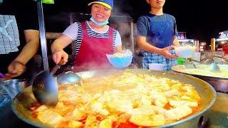 SPICY HOT POT of DOOM!! Street Food in Taiwan's BIGGEST Night Market | Taiwanese Street Food