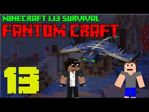 NOVÝ MLÝN! Minecraft survival 1.13.1! #13 |FANTOM CRAFT| /wCukeMan