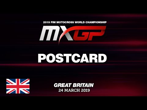 MXGP of Great Britain 2019 - Postcard