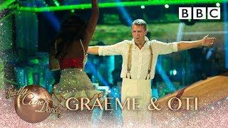 Graeme Swann & Oti Mabuse dance the Samba to Soul Limbo - BBC Strictly 2018
