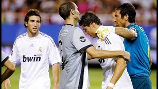 The Day Ronaldo & Buffon Met Each Other For The 1st Time
