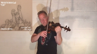 "Unaccompanied Violin Improvisation #9 - ""Cry"""