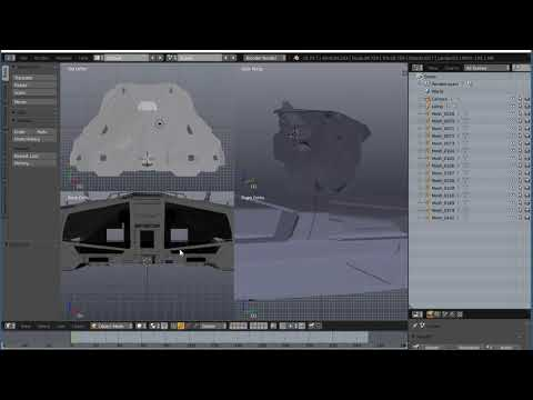 Exporting your Elite Dangerous ship for 3D printing Pt.2