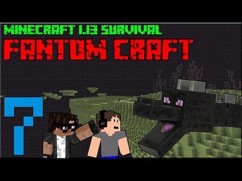 ENDER DRAGON! Minecraft survival 1.13! #7 |FANTOM CRAFT| w/Drofinka, Mole06, MagilMan, CukeMan