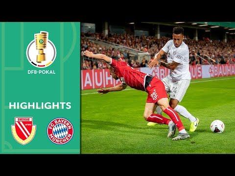 Lewandowski brace & Hernandez debut | Cottbus vs. FC Bayern 1-3 | Highlights | DFB Cup | 1st Round