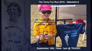 TEAMING UP WITH TERRY: contributing to the legacy of terry fox