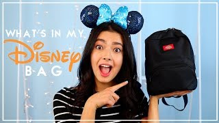 WHATS IN MY BAG // DISNEY EDITION