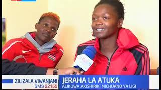 Mwanavoliboli wa Pipeline Triza Atuka aelezea jinsi alivyopata jeraha | NYOTA WA