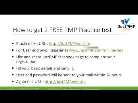 Free Online PMP Practice exam | Free PMP Mock test - YouTube