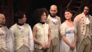 What I did for love - Hamilton cast honors A Chorus Line
