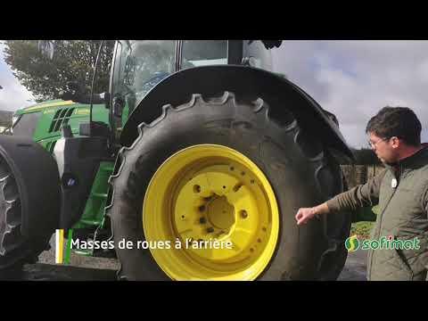 Vidéo occasion tracteur john deere 6215R