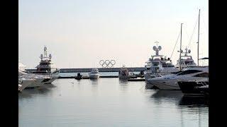 Морские прогулки в Сочи, экскурсия по морпорту (видео без слов)
