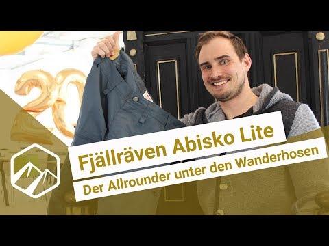 Fjällräven Abisko Lite: Der Allrounder unter den Wanderhosen | Bergzeit