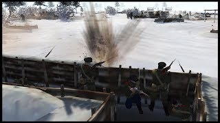 NO MANS LAND ASSAULT ~ Russian Trench Defense - Men of War: Great War Mod