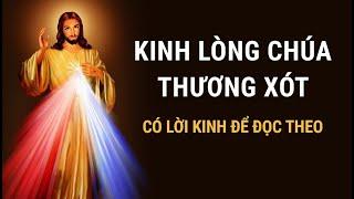 KINH LÒNG CHÚA THƯƠNG XÓT (có lời kinh để cùng đọc 20 phút mỗi ngày)