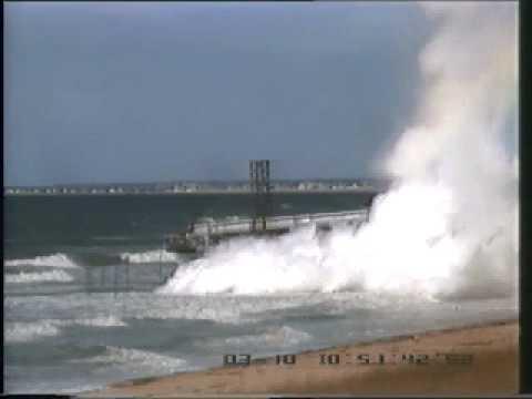 Eksempler på RPT-eksplosjoner fra storskala eksperimenter der flytende naturgass tømmes på vann.