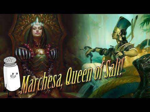 Commander Challenge - Queen Marchesa (Part 1) - смотреть