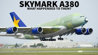What Happened To The Skymark A380?