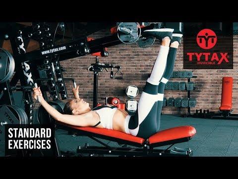 TYTAX® M1 | Lever Lying Vertical Calf Raise
