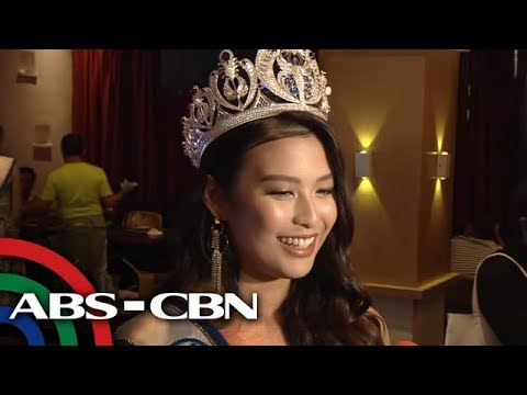 [ABS-CBN]  WATCH: Michelle Dee's 'game plan' to bring home Miss World crown | ABS-CBN News