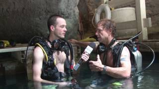 Hot Spring Scuba Diving At Homestead Crater!