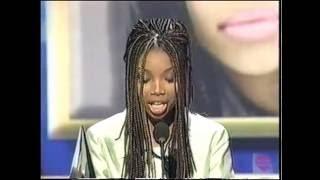 Brandy | Favorite New R&B Artist | 1996 American Music Awards