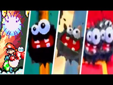 Evolution of Fuzzy in Super Mario Games (1990 - 2017)