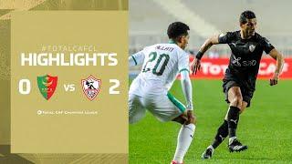 CAF CL   MC Alger 0 – 2 Zamalek SC
