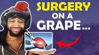 THEY DID SURGERY ON A GRAPE.... | HIGH KILL FUNNY GAME   (Fortnite Battle Royale)