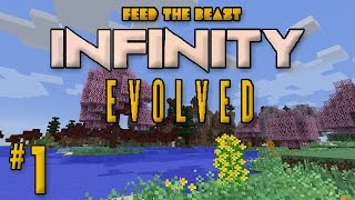"Minecraft: FTB Infinity Evolved - Ep. 1 - ""Retro Modpack Again?!"""