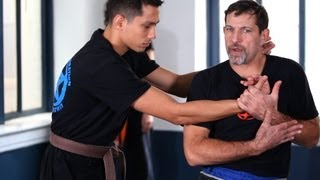 How to Defend against a Side Choke | Krav Maga Defense