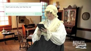 Tweets of the Rich & Famous:Martha Washington #5
