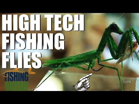 High Tech Fishing Flies – Fishing Britain episode 6