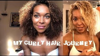 I RUINED MY HAIR TWICE! My natural hair journey, heat/color damage.