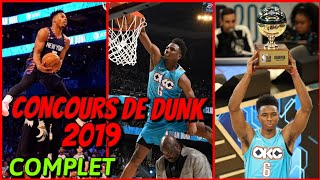 CONCOURS DE DUNK ALL STAR GAME 2019 ! COMPLET HD