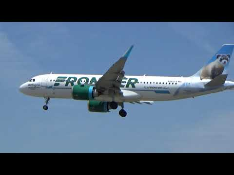 , title : 'Frontier Airlines A320-261N Black Forest Ferret (special livery)