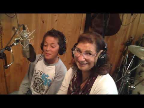 Studio enregistrement Angels avec Micheline Abergel