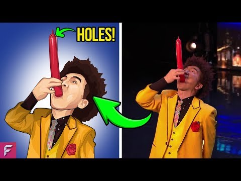 MOST FAMOUS Got Talent Magic Tricks Finally Revealed | AGT | BGT (видео)