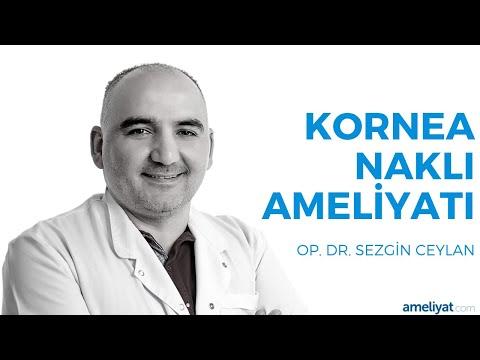 Kornea Nakli Ameliyatı (Op. Dr. Sezgin Ceylan)