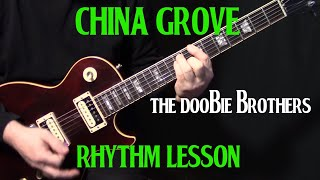 "How To Play ""China Grove"" On Guitar By The Doobie Brothers 