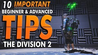 The Division 2: BEGINNER & ADVANCED TIPS – Optimal Perks, Extra Loot, Faster Movement, and More!