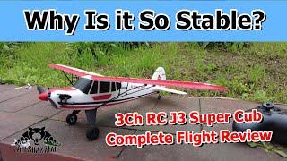 JJRC W01 Ultra Stable 3Ch Mini RC J3 Super Cub Airplane