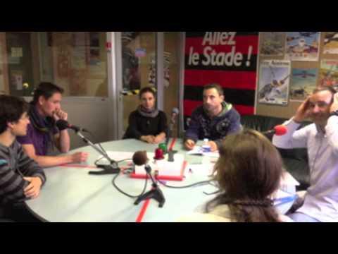 Les sportifs et professeurs de l'UPS en direct sur Altitude FM