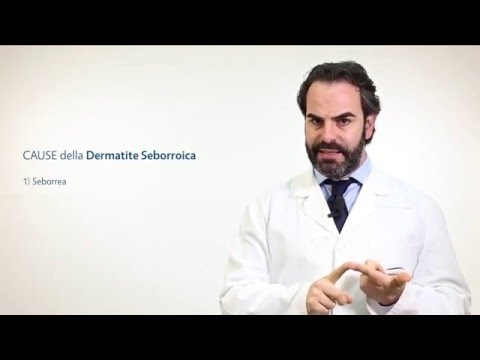 Differenze di eczema da dermatite allergica