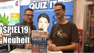 SPIEL19: Endlich ein Quiz Spiel was man lange spielen kann? Rudy Games und Quiz it!