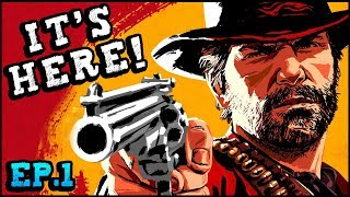 Red Dead Redemption 2 - WOLVES, OUTLAWS, & A BLIZZARD! (Red Dead Redemption 2 Gameplay Part 1)