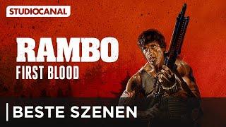 Die besten Szenen aus RAMBO - FIRST BLOOD - mit Sylvester Stallone