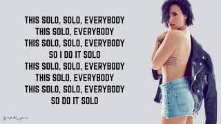 Clean Bandit   Solo (Lyrics) Feat. Demi Lovato